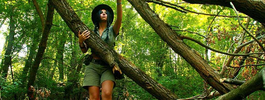 Waldbaden fördert die Gesundheit