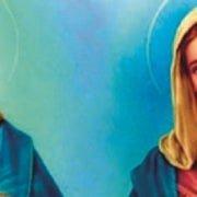 Jesus und Maria als Infrarotstrahler