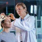 Messung von Gehirnwellen