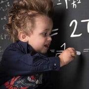 Einstein mit Kind